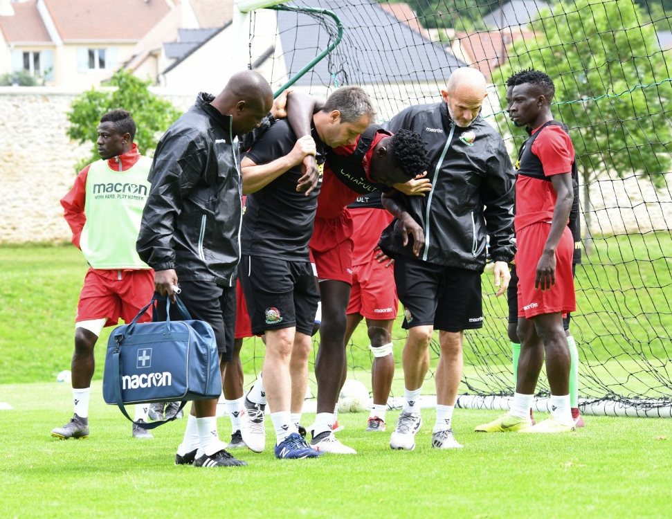 Dark Cloud Rock Harambee Stars' Camp as Dependable Defender is Ruled Out of AFCON