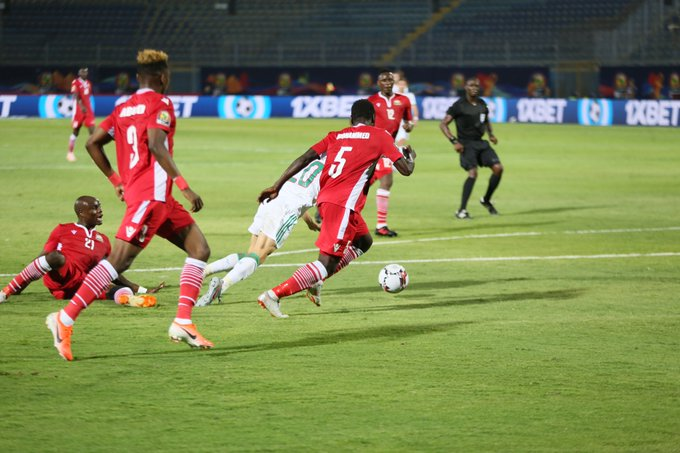 Harambee Stars Fail to Shine Against the Hungry Algerian Desert Foxes