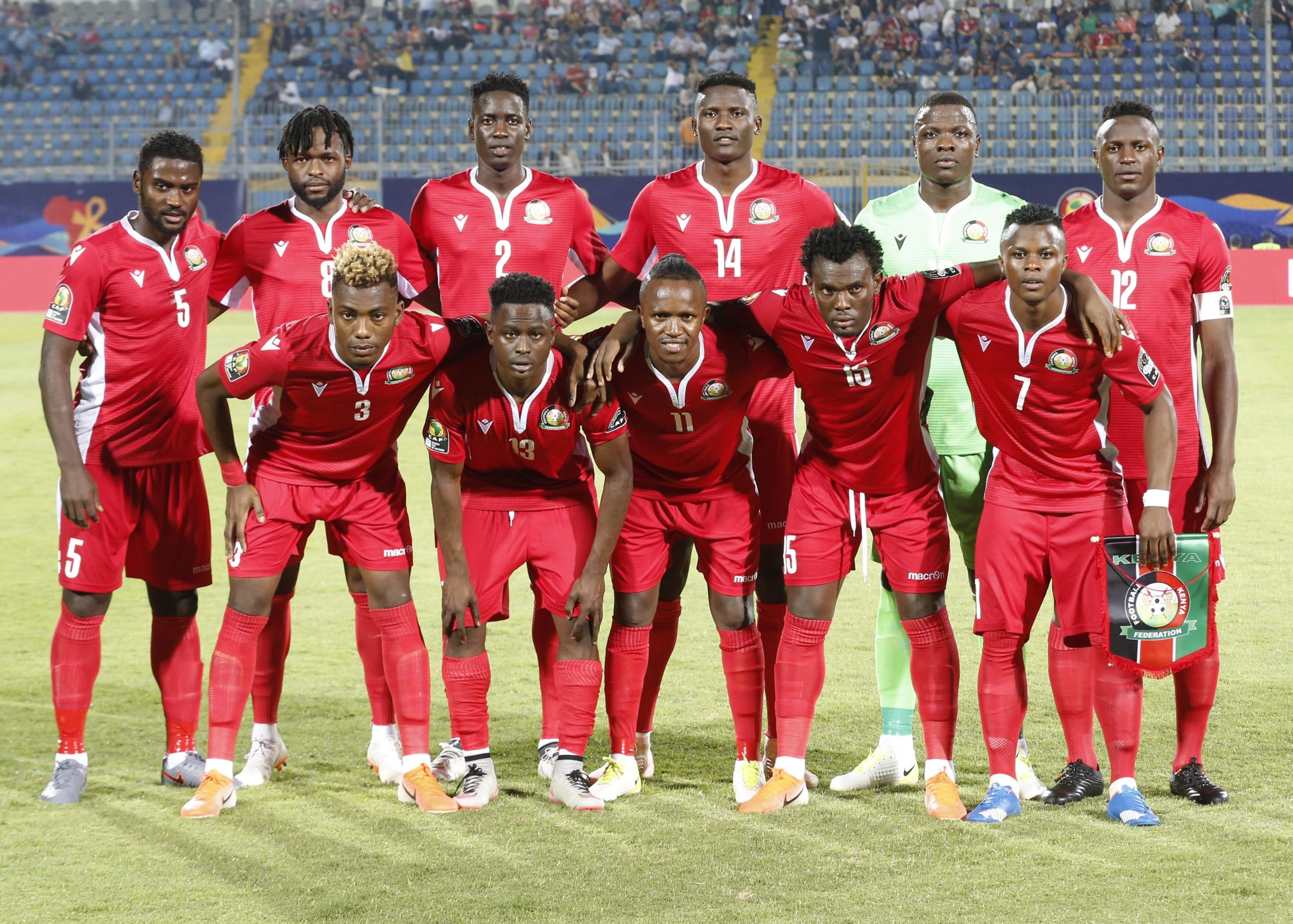 Fixture Dates For Harambee Stars' AFCON 2021 Qualifiers