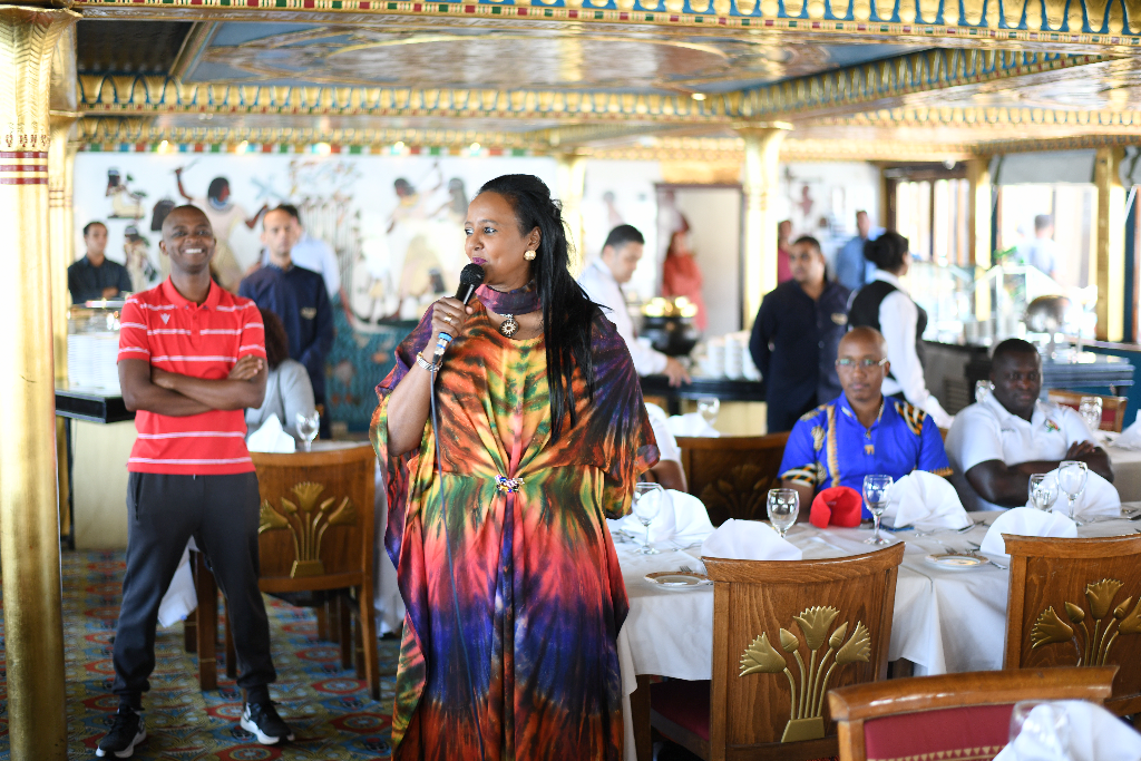 Kenya Crash out of AFCON as CS Amina Hosts Team to Luncheon in Egypt