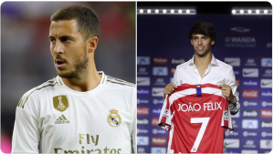 Fan Ranks Joao Felix Above Hazard and the Belgian's Online Army Can't Take it