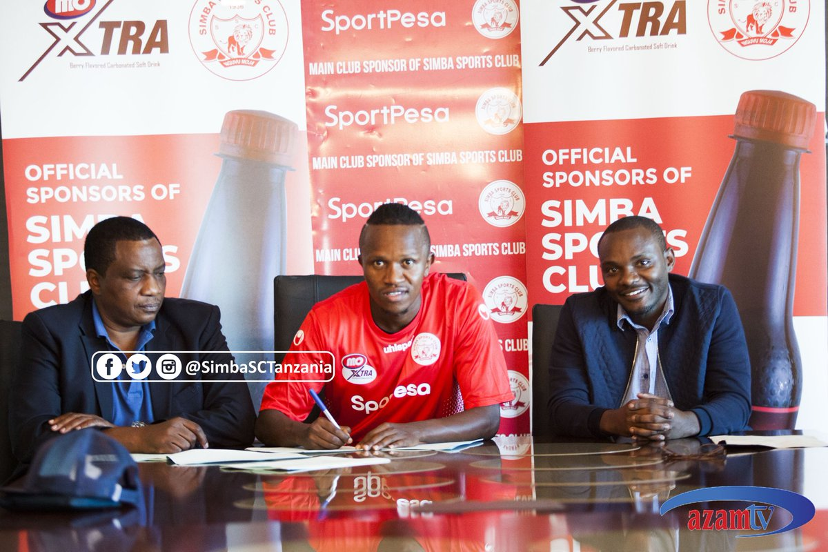 Kahata Officially Unveiled by Tanzanian Giants Simba SC
