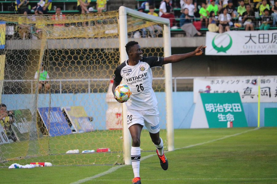 On Fire Michael Olunga Scores as Kashiwa Reysol Continues March to Earn Promotion