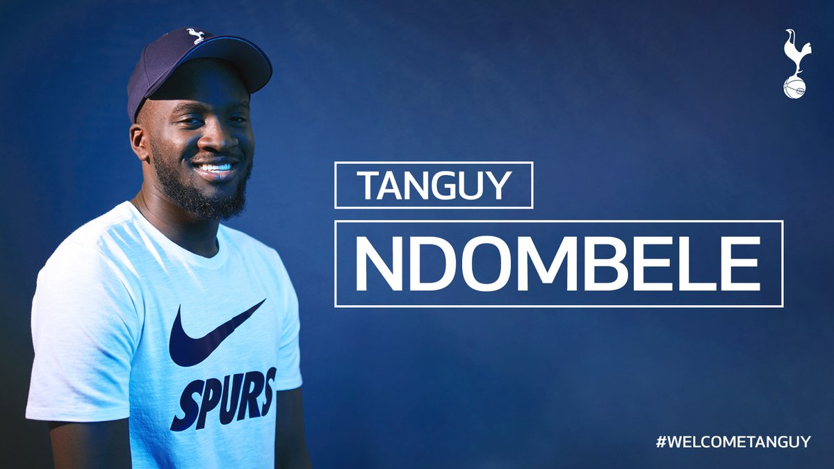 Tottenham Confirm Club-Record Deal For Tanguy Ndombele
