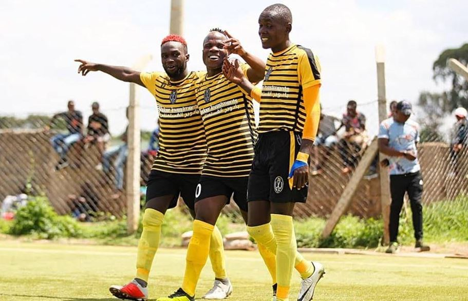 Spineless Mathare United Humiliated by Wazito in a Friendly Match