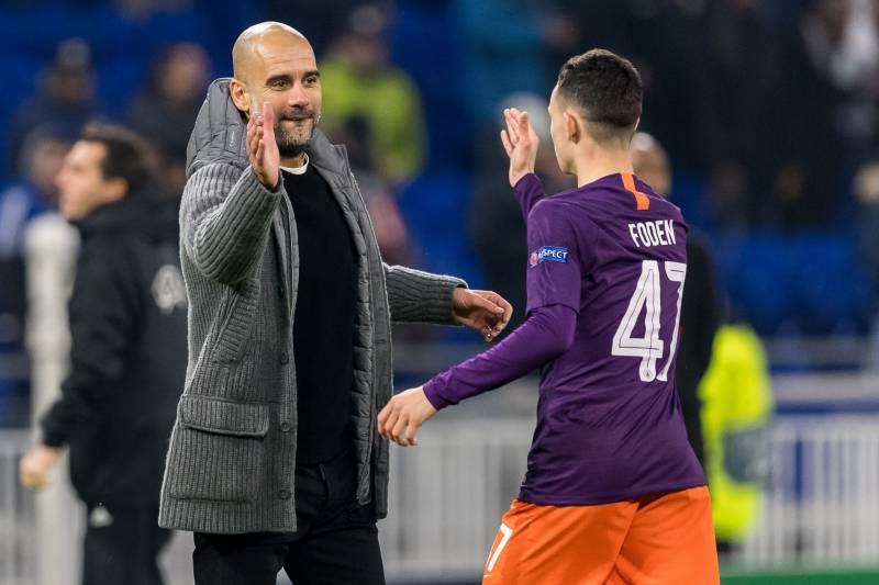 Pep Guardiola Apologises to Man City Starlet For Not Granting Him Adequate Play Time