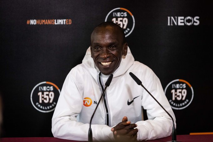 Kipchoge's 21 Pointer Ahead of the INEOS Challenge