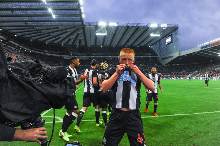 A Family Affair as Longstaff Basks in Glory After Dream Debut Against Man United