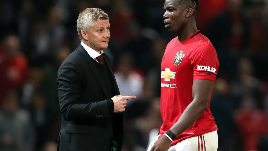 Van Persie Shares Notes With Ole Gunnar on How to Revive Pogba
