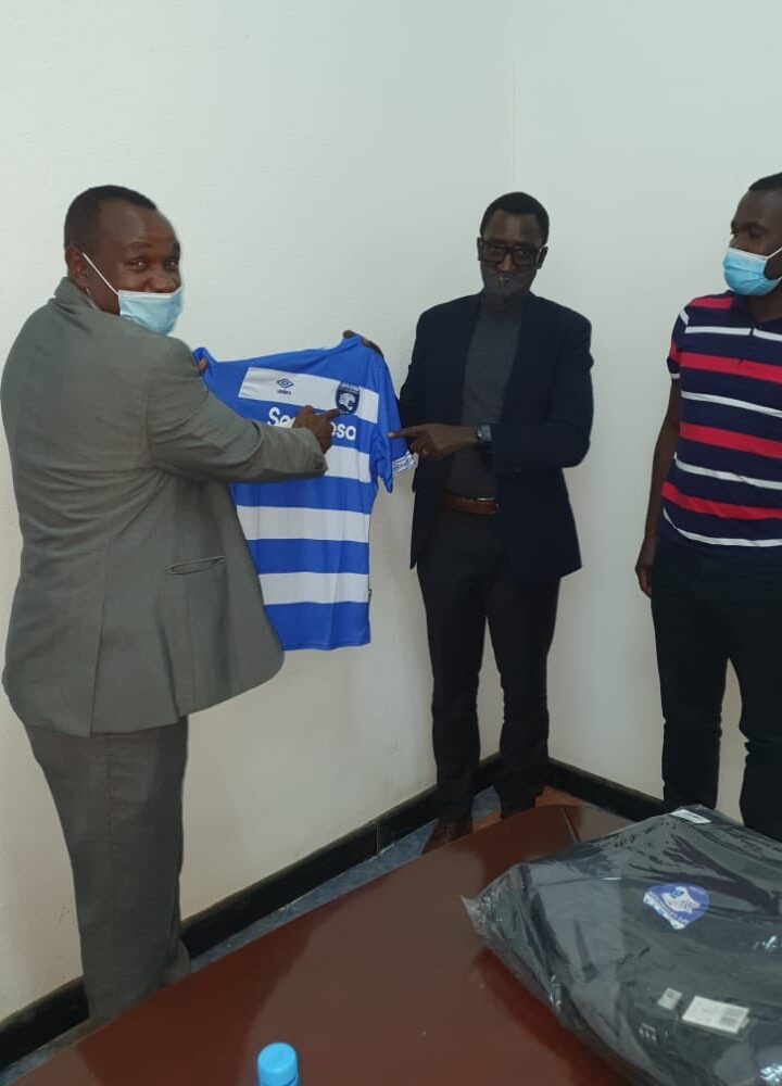 Prominent Businessman Buzeki Seeks Areas of Mutual Partnership With AFC Leopards