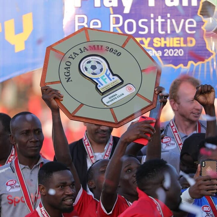 Simba Roar To The Community Shield As Joash Bags First Medal