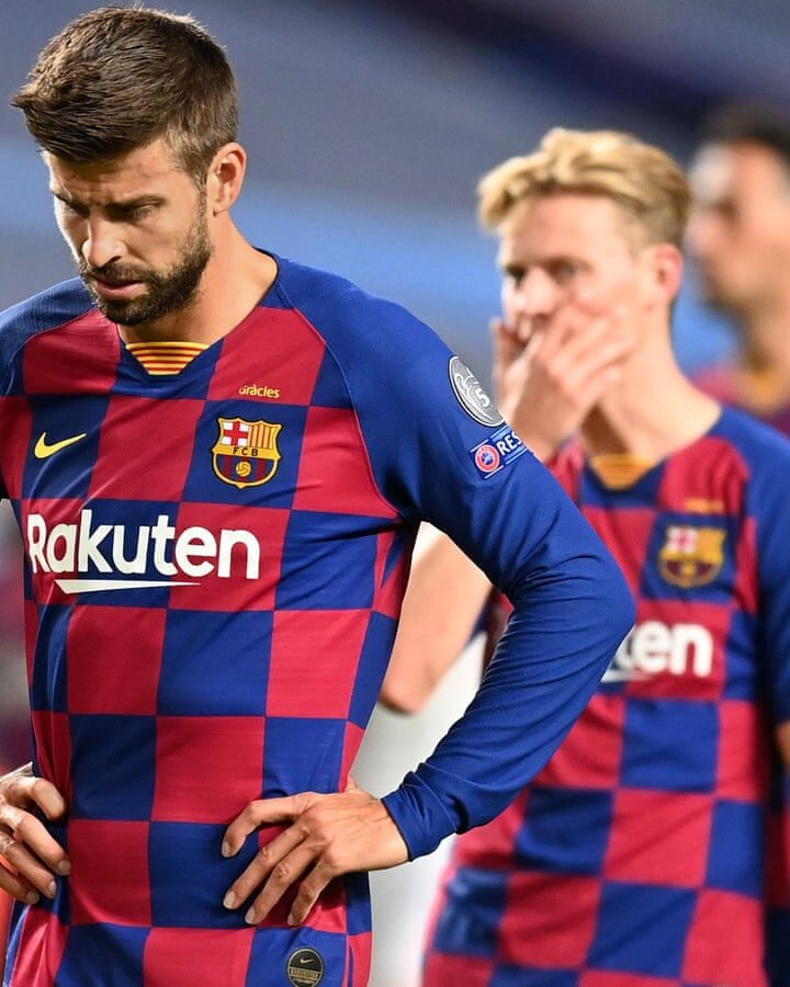 """""""We Can't Compete Like That"""" Gerard Pique Calls For Changes At Barcelona"""