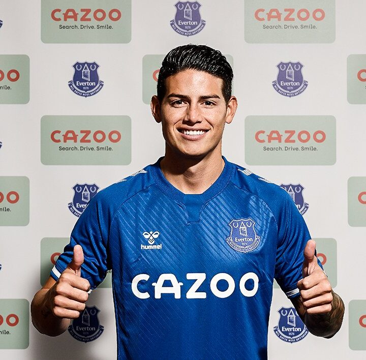 Everton Confirm The Signing Of James Rodriguez From Real Madrid