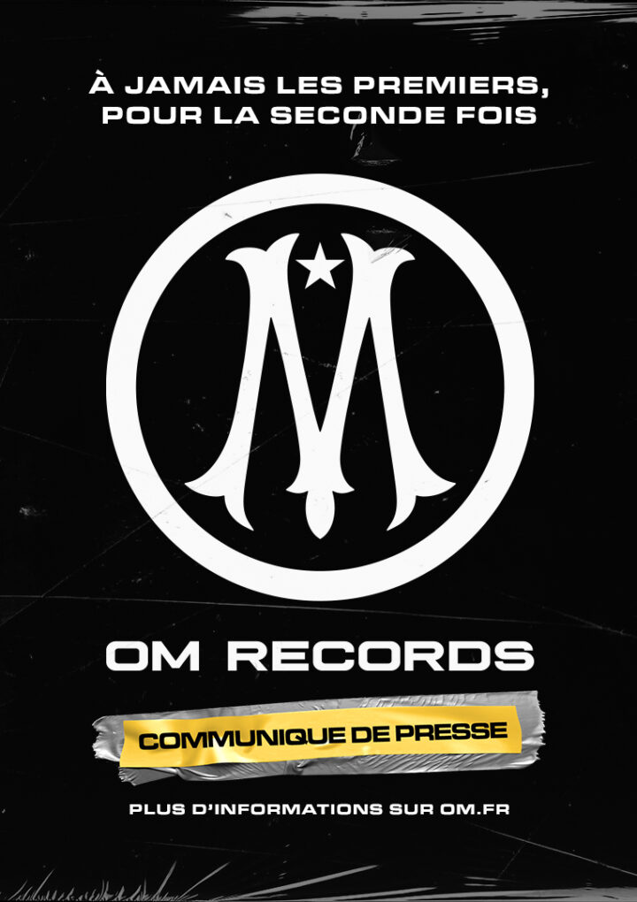 French Side Olympique De Marseille Launch Own Record Label, A World First!