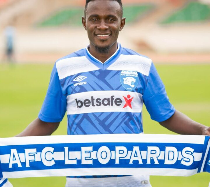 AFC Leopards Confirm The Signing Of Speedy Winger Harrison Mwendwa