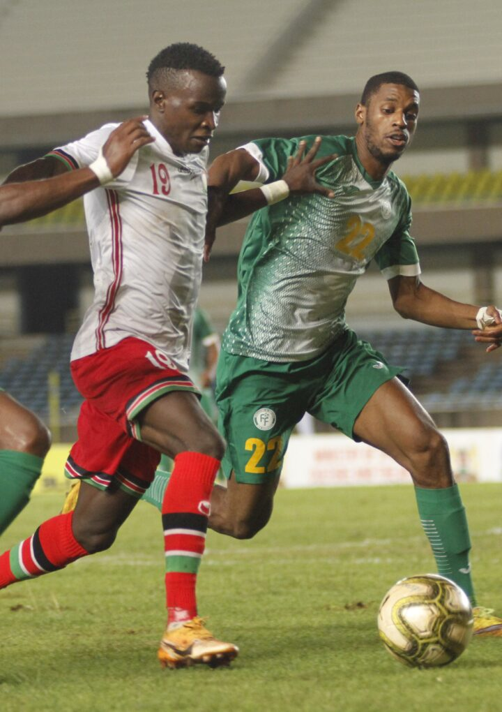 Match Report: Kenya Labour To Grab A Point Against 10-Man Comoros