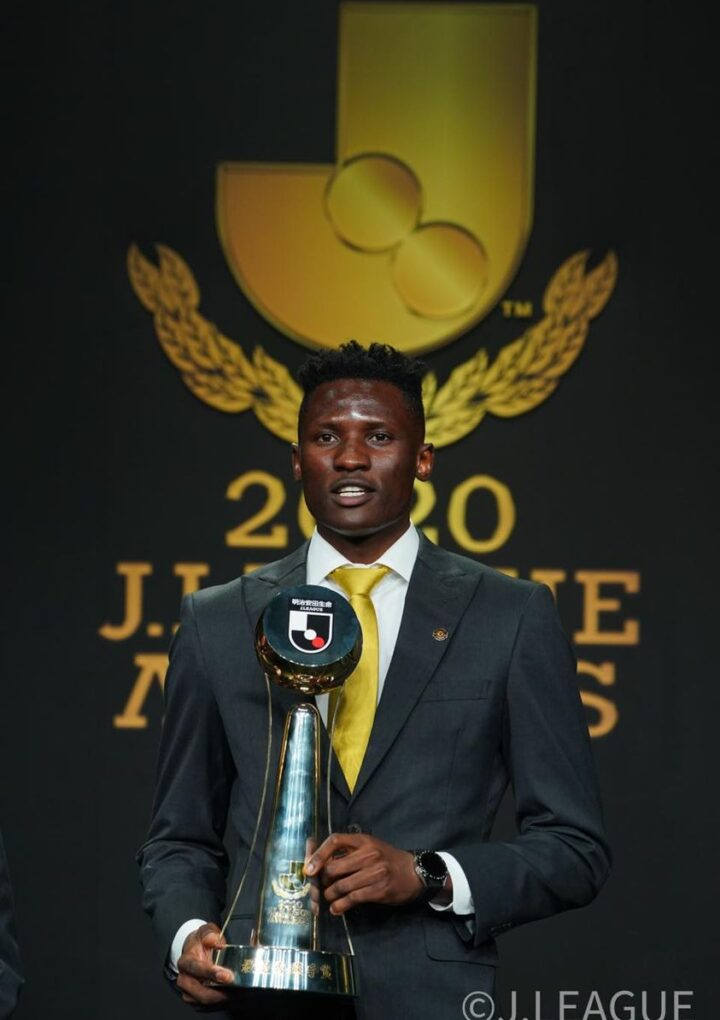 Sharp-Shooting Michael Olunga Named Player of the Year in Japan