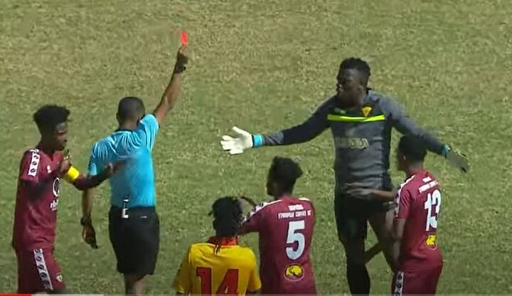 Matasi Sees Red as Naisar Runs Show to Condemn St. Georges To Defeat in The Sheger Derby