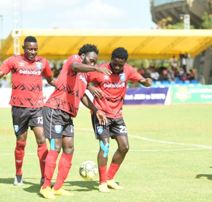 AFC Leopards Drown Sharks to Continue March to League Title