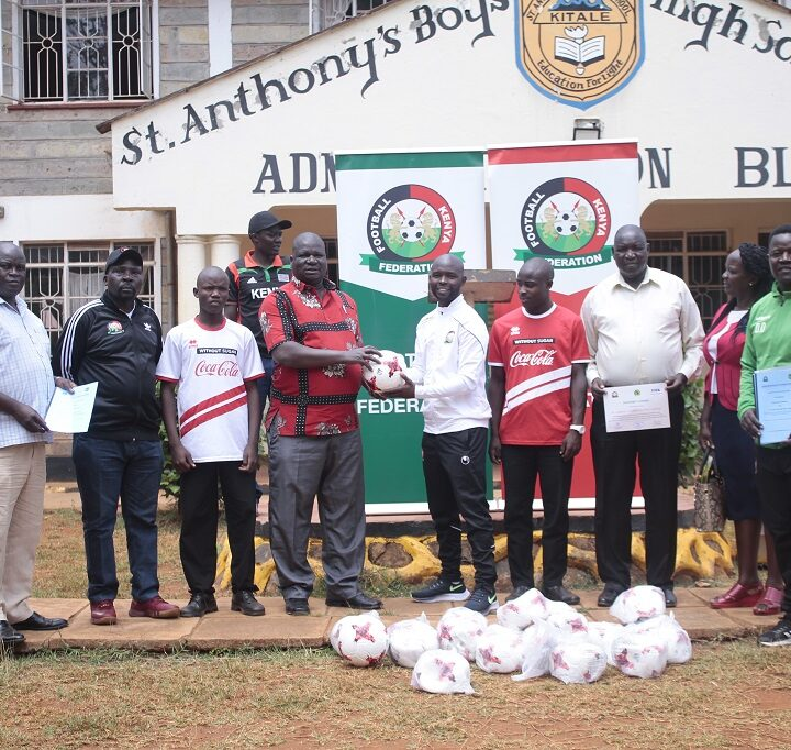 FKF Inaugurates St. Anthony Boys Kitale as a Center of Excellence