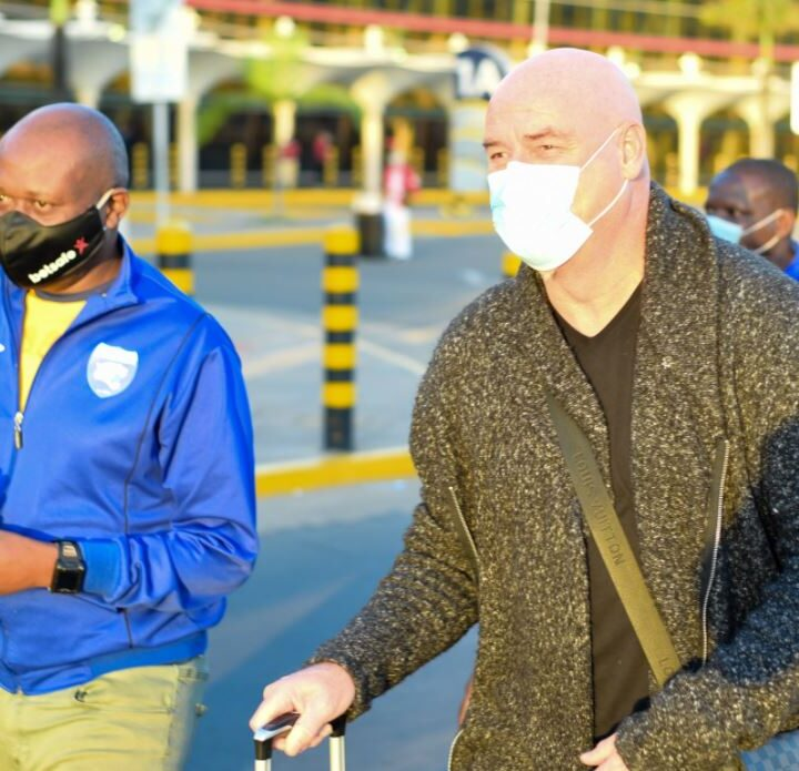 Patrick Aussems Arrives in The Country to Take Over as AFC Leopards Head Coach