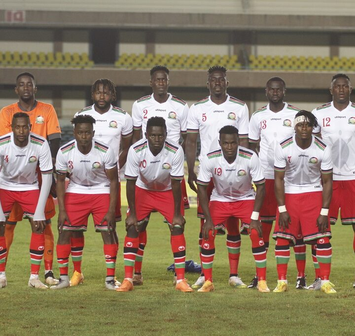 Harambee Stars Starting Lineup for South Sudan Friendly