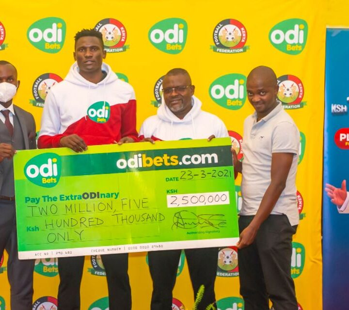 OdiBets Host Harambee Stars to Luncheon Ahead of Crucial AFCON Qualifiers