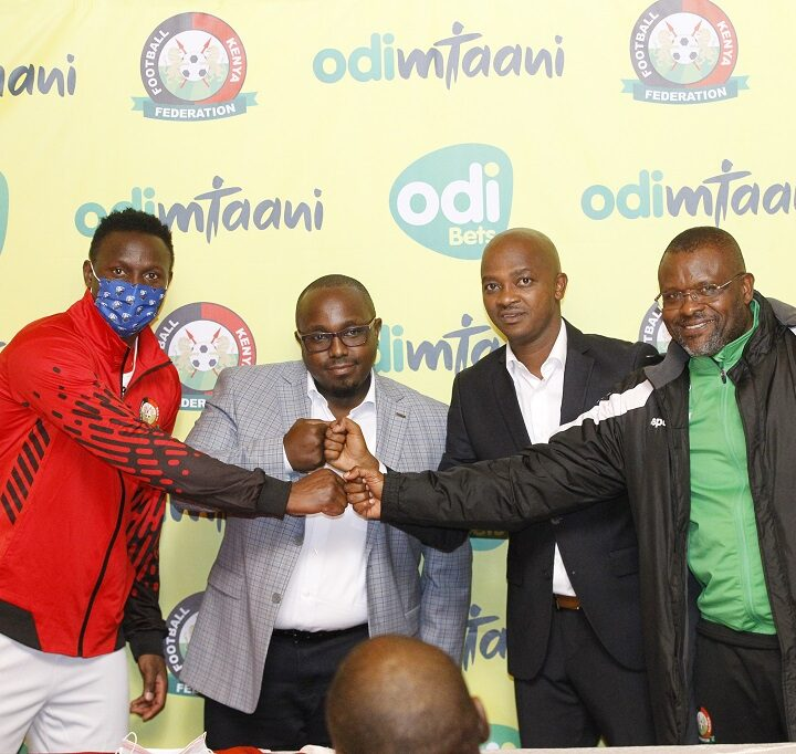 FKF Unveil OdiBets as Official Betting & Motivation Partner for Harambee Stars in 5 Million Deal
