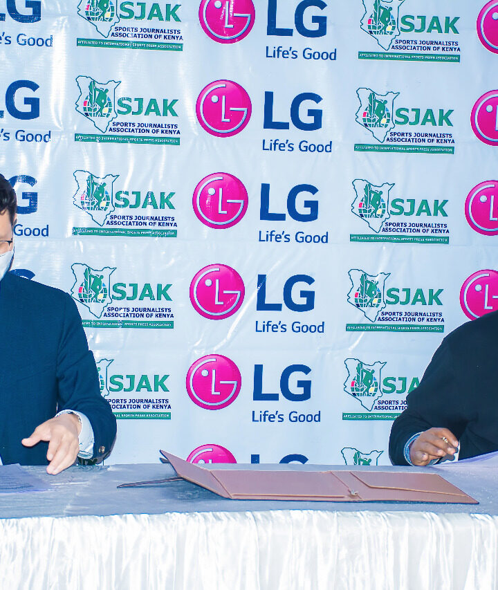 SJAK Partners with LG for Sports Personality of the Month Award in Kes 6.6 Million Deal