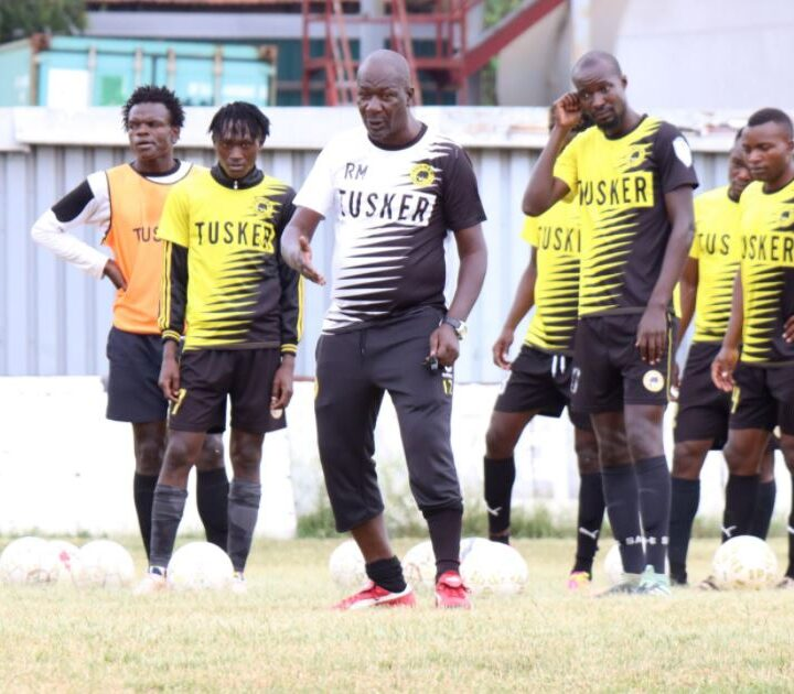 Coach Matano Full of Praise for Fighters Tusker FC