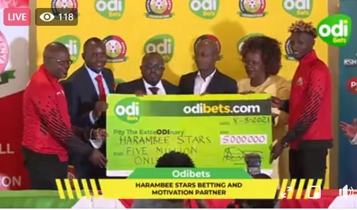 Inside Odibets Latest Deal With FKF & Harambee Stars