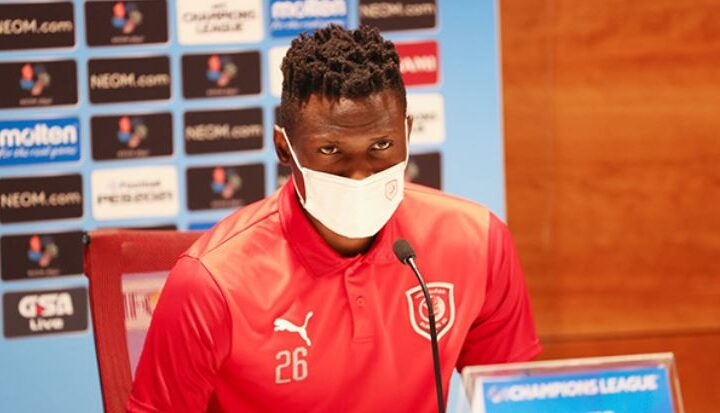 Olunga Fired Up Ahead of AFC Champions League Debut