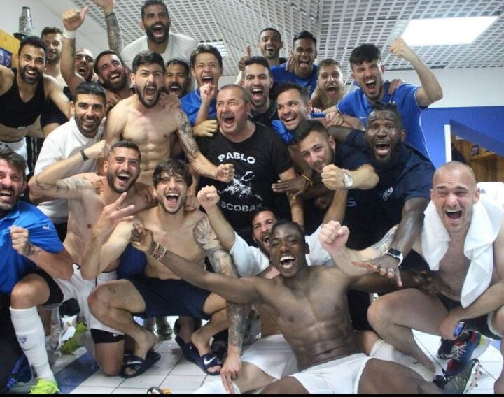 Abud Omar's Ionikos FC Secure Promotion to the Greek Super League