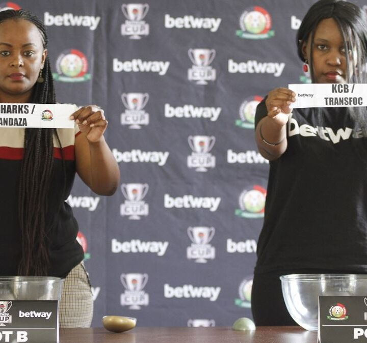 FKF Release the Betway Cup Round of 16 Fixtures