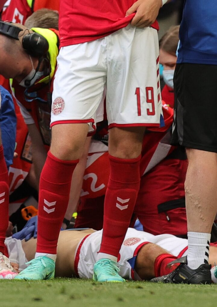 Euro 2020: Denmark Vs. Finland Suspended Due to a Medical Emergency