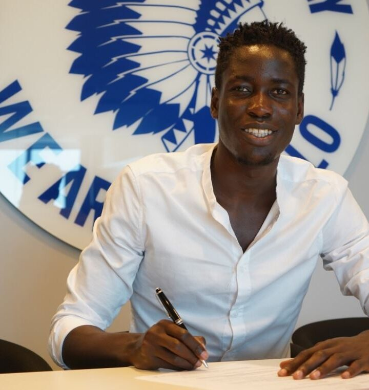 In Pictures: Joseph Okumu Signs for K.A.A. Gent