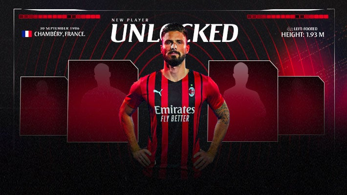 Olivier Giroud Completes Move to AC Milan
