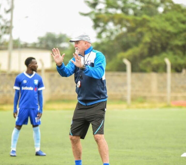 Football is Cruel – AFC Leopards Head Coach Patrick Aussems Opines After Cup Disappointment
