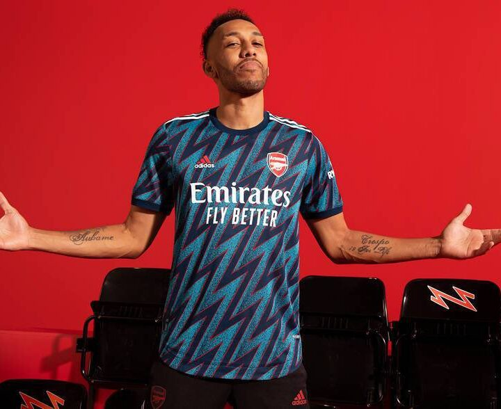 A Bolt from the Blue: Arsenal Unveil NEW third Kit
