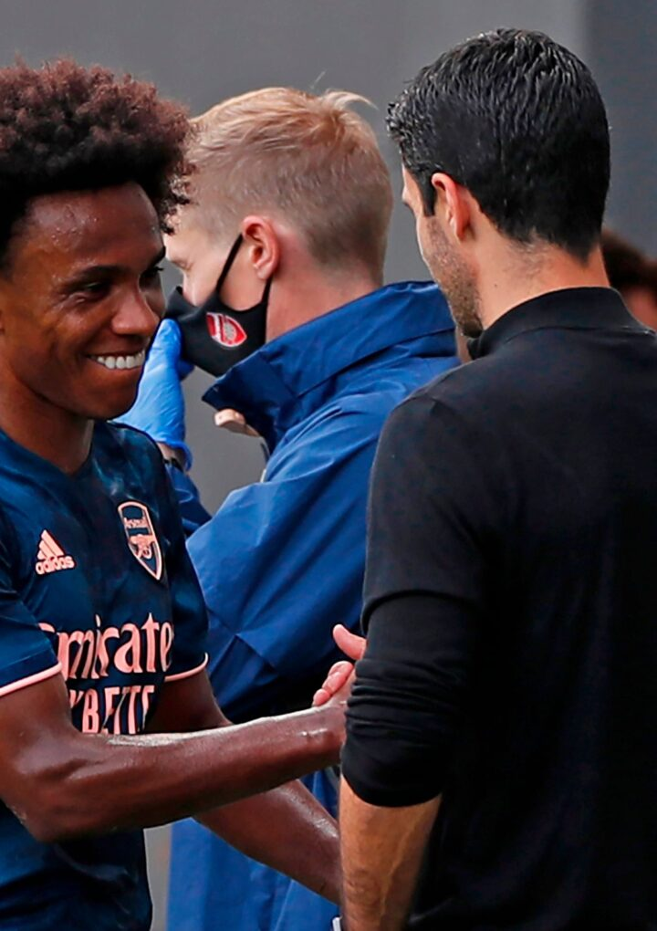 Arteta Comments on Willian's Exit & Incoming Transfers