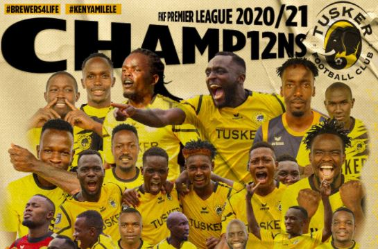 It's Official! Tusker FC are the FKFPL Champions