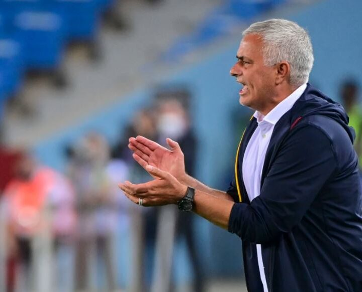 Mourinho Records First Win as As Roma Head Coach