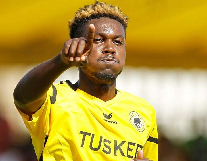 Meja Full of Gratitude After AIK Deal as He Pens Open Letter to the Tusker FC Family