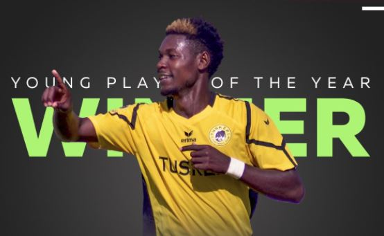 Meja Named Young Player of the Year