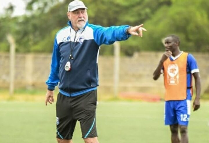 AFC Leopards' Head Coach Patrick Aussems Confirms He is Staying at the Den