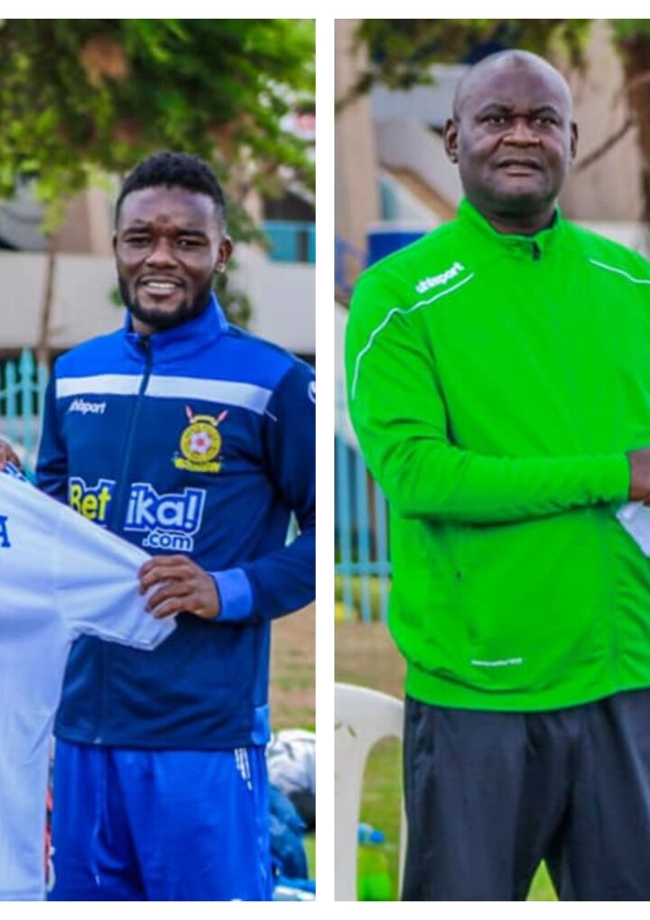 Police Unveil New Signings Makwatta and Miheso